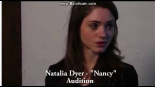 "Natalia Dyer-""Nancy"" Audition"