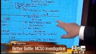 Investigator Mike Zullo talks about Obama birth certificate