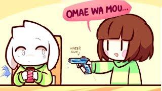 Asriel watch OUT! *Pew Pew*