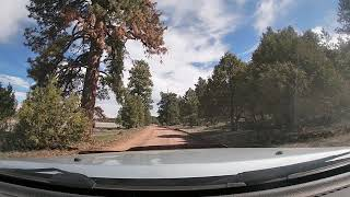 FLAGSTAFF BACKROADS. FIRST RIDE TO MARSHALL LAKE AFTER WINTER.