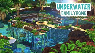 Underwater Family Home 🦀🌴    The Sims 4: Speed Build