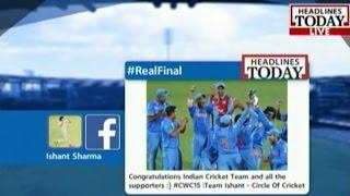 HT- India Vs Pak: Facebook messages of Virat Kohli, Roger ..