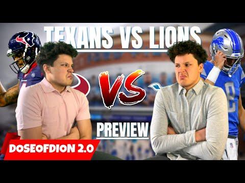 Lions & Texans Fans Get HEATED! Houston Texans Vs Detroit Lions Preview