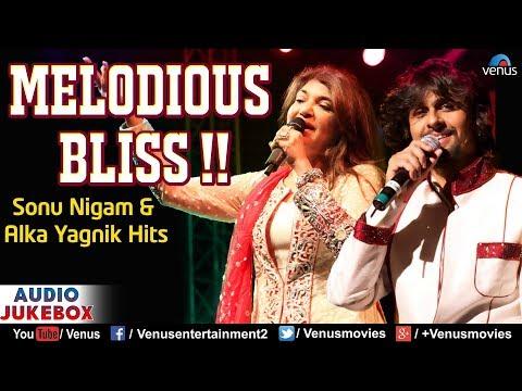 Sonu Nigam & Alka Yagnik | Melodious Bliss | 90's Bollywood Romantic Songs | Best Hindi Songs