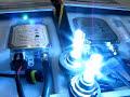 Comparacion de un HID XENON 50 Watts vs 35 Watts.