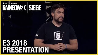 Rainbow Six Siege: E3 2018 Conference Presentation | Ubisoft [NA]