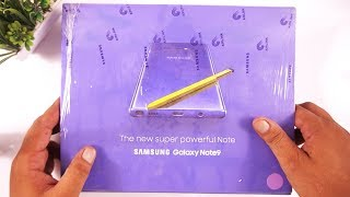 Official Galaxy Note 9 Unboxing & Hands on Review [Urdu/Hindi]