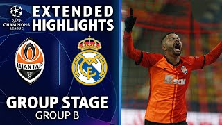 Shakhtar Donetsk vs. Real Madrid: Extended Highlights | UCL on CBS Sports