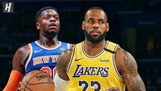 Los Angeles Lakers vs New York Knicks - Full Game Highlights   January 22, 2020   2019-20 NBA Season