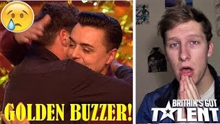 MOST EMOTIONAL PERFORMANCE EVER ON BGT?!! (Marc Spelmann Golden Buzzer Audition REACTION)
