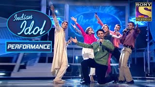 Contestants ने दिया एक शानदार Group Performance | Indian Idol Season 1