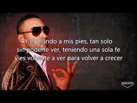 Don Omar -Tú No Sabes Cuánto Duele -Letra