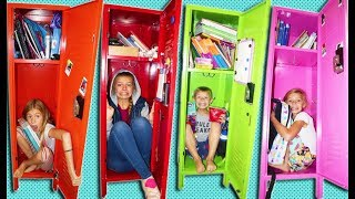Last To LEAVE Your HOMESCHOOL Locker Wins DAD'S Credit CARD!