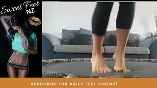 Jumping to satisfy your Foot Fetish