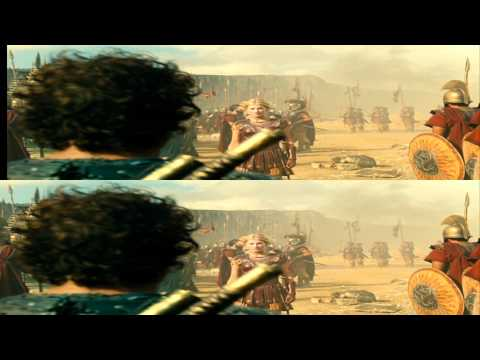Wrath of the Titans 3D (Official Trailer in 3D) - RUSSIAN