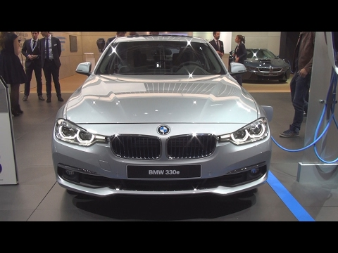 @BMW 330e 252 hp Berline Luxury (2017) Exterior and Interior in 3D