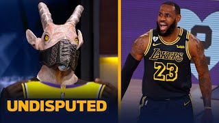 Skip & Shannon react to LeBron & Lakers Game 4 win over Dame's Blazers   NBA   UNDISPUTED
