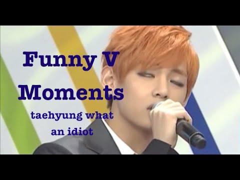 Funny Moments | BTS V (Bangtan Bomb, Weekly Idol, Interviews, Rookie King)