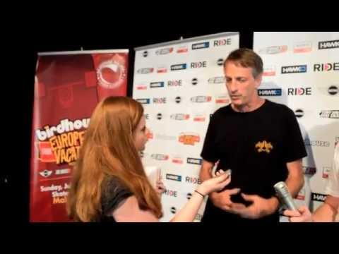 TONY HAWK MALAGA 2015  I  THE INTERVIEW