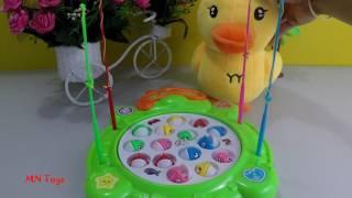 Vịt con và bộ đồ chơi câu cá rùa xanh  Kids Fishing Toys Electric chị Phượng ớt
