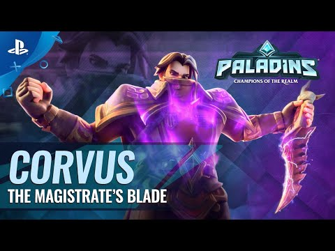 Corvus, The Magistrate's Blade reveal