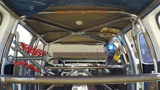 Building a Roll Cage for the Stuburban - Reckless Wrench Garage