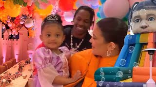 Inside Stormi Webster's OVER THE TOP 3rd Birthday Party