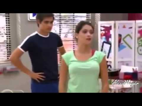 Violetta 2-Vilu y Leon casi se besan (Capitulo 67)