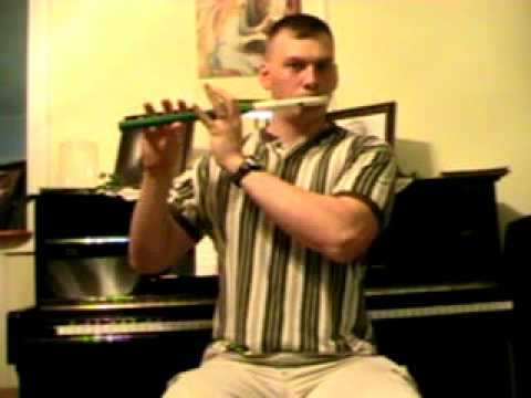 In Christ Alone on PVC Pennywhistle in key of G