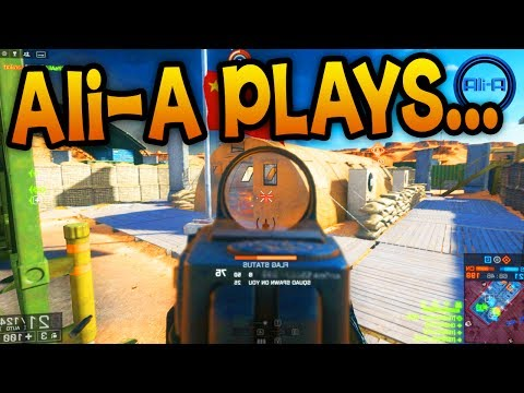 ALI-A PLAYS OTHER GAMES! - Battlefield 4 China Rising - (BF4 Gameplay) - Smashpipe Games