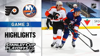 NHL Highlights | Second Round, Gm3: Flyers @ Islanders - Aug. 29, 2020