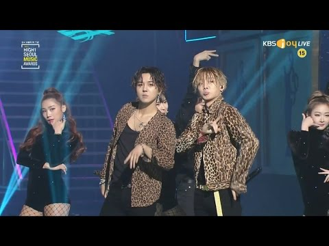 MOBB - '몸(BODY)' + '꽐라(HOLUP!)' + '빨리 전화해(HIT ME)' in 2017 Seoul Music Awards