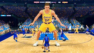 I Made A 30 Foot Player In NBA 2K21... And Broke The Game