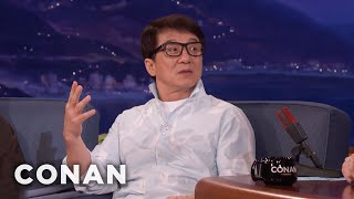 Jackie Chan On His Fear Of Needles  - CONAN on TBS
