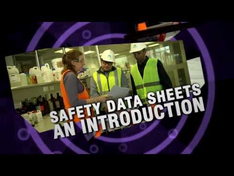 Safety Data Sheets - An Introduction safety training video - GHS compliant Safetycare