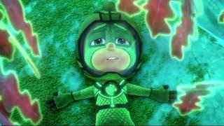 PJ Masks Episodes   CLIPS     Power Pondweed 💦Cartoons for Kids