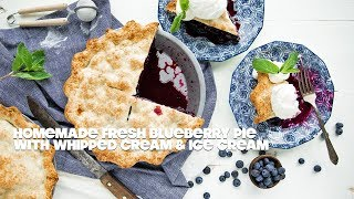 How to make a Blueberry Pie Recipe