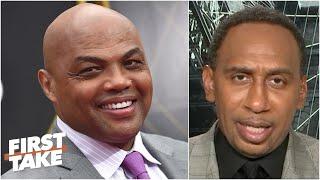 Stephen A. 'completely agrees' with Charles Barkley's outlook on the 2020 NBA champs | First Take