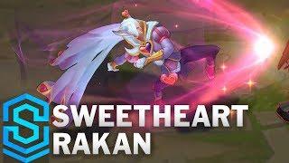 Sweetheart Rakan Skin Spotlight - Pre-Release - League of Legends
