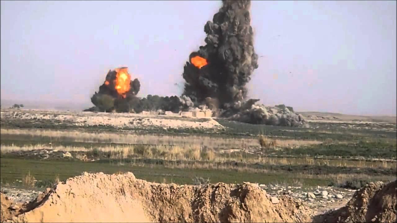 6 Jdam Bombs Explode In Afghanistan Youtube