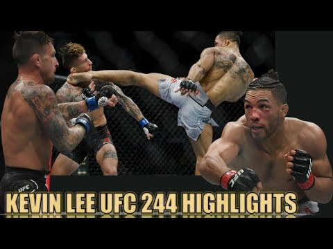 Kevin Lee Knockout Highlights @ UFC 244 Reactions and Postfight Interview