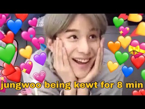jungwoo being cute for 8 minutes | jungwoo cute/funny compilation