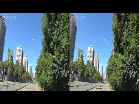 Curitiba - Passeio em Dia Ensolarado 3D - 06.04.2013 - Lumix Lx7