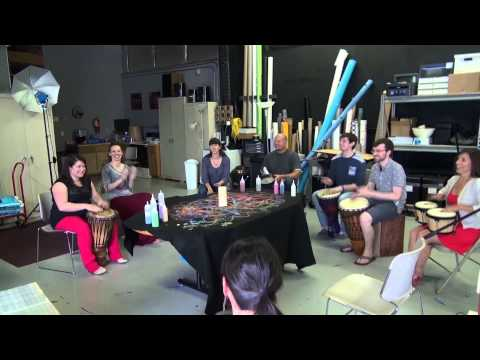 Insight Creative Drum Circle with Keith McGillivray