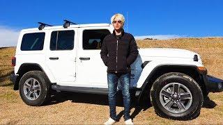 釣り専用の車を購入。新型『ジープ/ラングラー(Jeep Wrangler)』