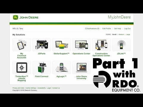 John Deere Operations Center Full Tutorial pt. 1 - Interactive Video by RDO Equipment Co.