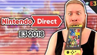 Nintendo E3 Direct Reaktion + Commentary