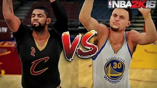 Kyrie Irving vs Stephen Curry - [Half Court Challenge]