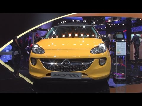 Opel Adam Open Air 1.0 ECOTEC DIT 66 kW (2016) Exterior and Interior in 3D