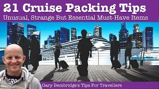 Cruise Packing Tips : 21 Unusual (But Essential) Items To Pack